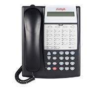 avaya partner phone 18D black